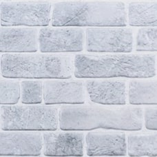 Retro Brick Grey - 3D PVC obklad